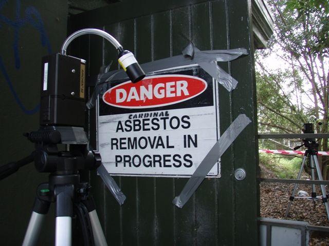 Asbestos Air Monitoring Pumps : Safe environments asbestos air monitoring